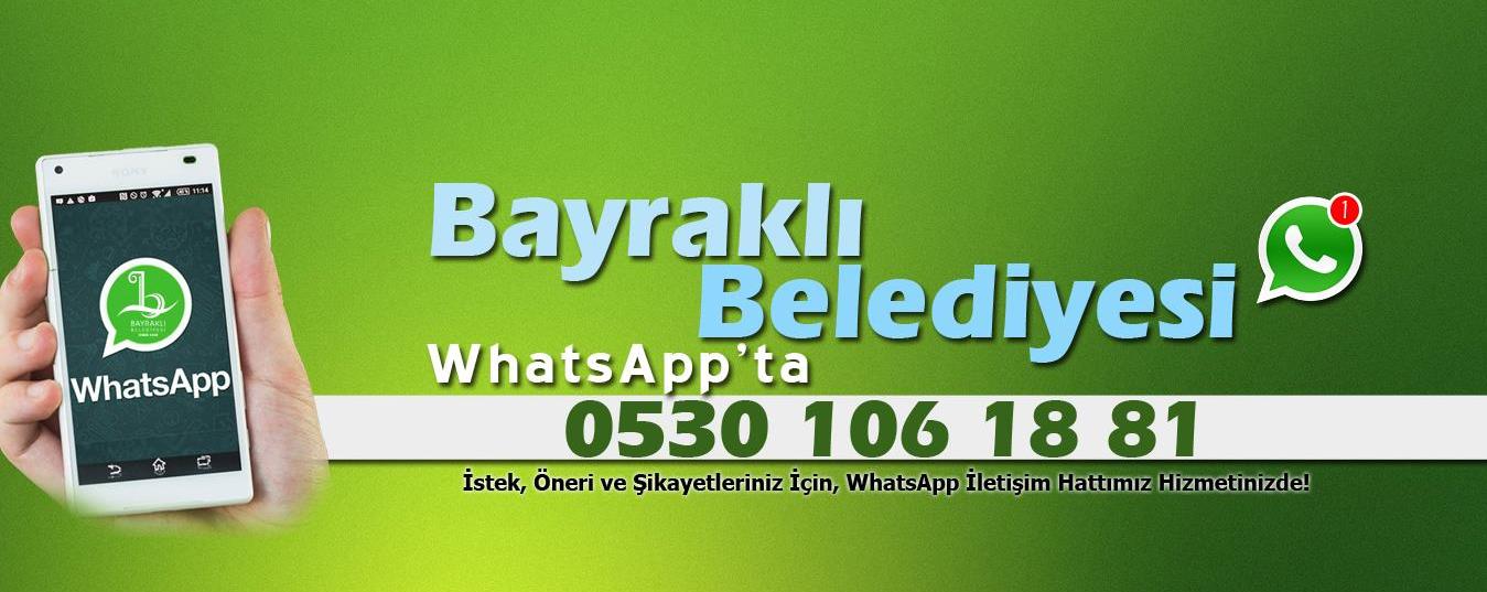 Bayraklı Belediyesi WhatsApp